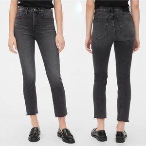GAP | High Rise Cigarette Jeans, Black Sz. 27/4